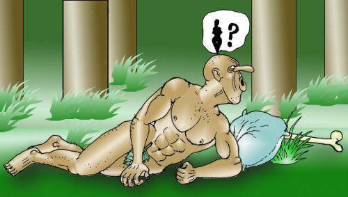 Адам слышит голос Евы