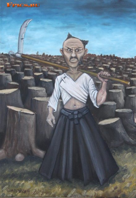 Самурай на лесоповале